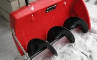 Снегоуборщик электрический лопата