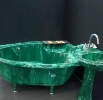 Ванна из искусственного камня своими руками
