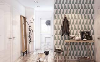 Маленький коридор в хрущевке дизайн фото