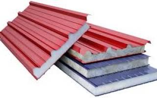 Крыша из сэндвич панелей для индивидуального строительства