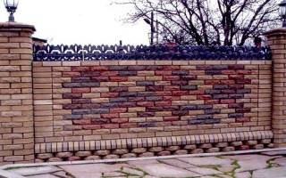 Проекты заборов для загородных домов фото
