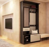 Маленькие прихожие в коридор фото мебель